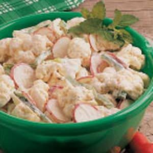 Cauliflower and Radish Salad Recipe