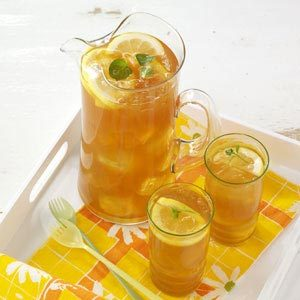 Touch-of-Mint Iced Tea Recipe