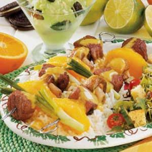 Marinated Beef Kabobs Recipe