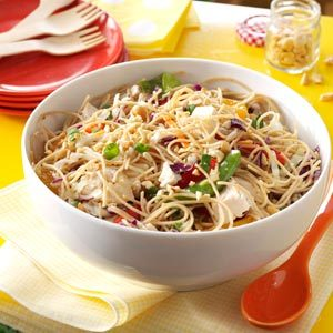Sesame Chicken Noodle Salad Recipe