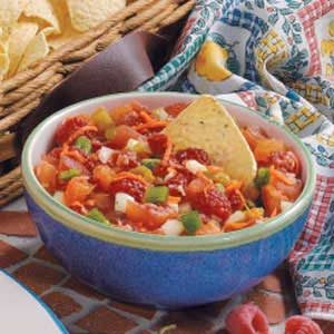 Raspberry Tomato Salsa Recipe