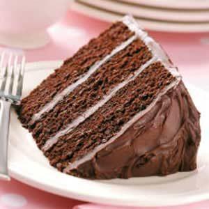 Dark Chocolate Layer Cake Recipe