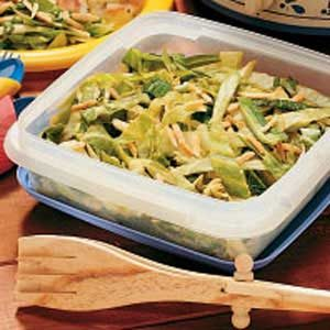 Warm Cabbage Slaw Recipe