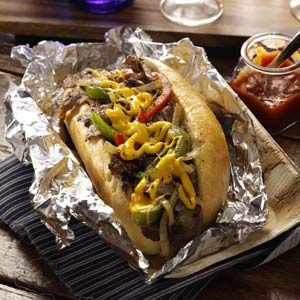 Pat's King of Steaks Philly Cheese Steak Recipe