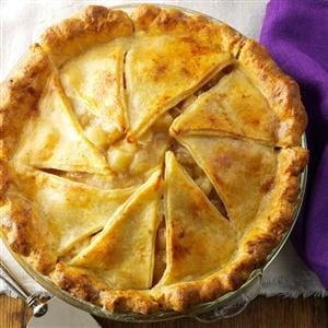 Browned Butter Apple Pie with Cheddar Crust Recipe