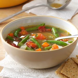 Tomato Green Bean Soup Recipe