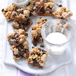 Caramel Nut Bars Recipe