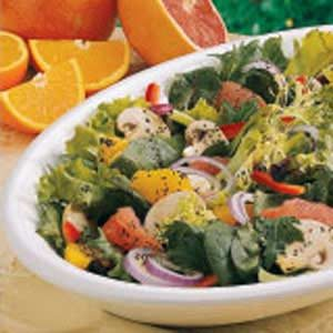 Sweet-Sour Citrus Salad Recipe