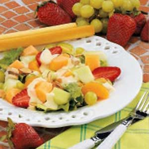 Tangy Fruit Chicken Salad Recipe