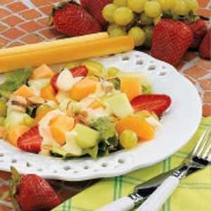 Tangy Fruit Chicken Salad Recipe