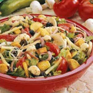 Antipasto Tossed Salad Recipe