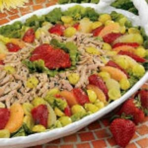 Grapefruit Pork Salad Recipe