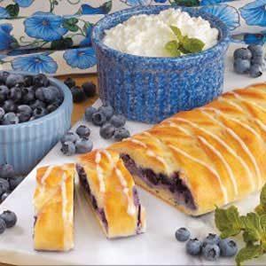 Blueberry Cheese Danish Recipe