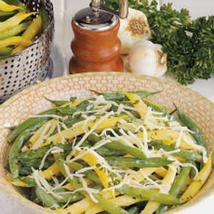 Garlic Green and Wax Beans Recipe