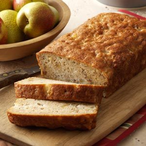Ginger-Almond Pear Bread Recipe