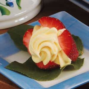 Cream-Filled Strawberries Recipe