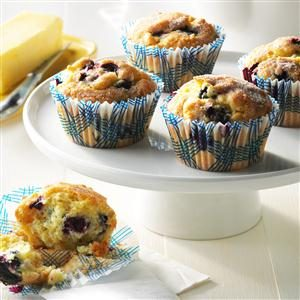 Aunt Betty's Blueberry Muffins Recipe