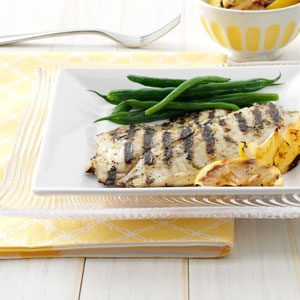 Grilled Greek Fish