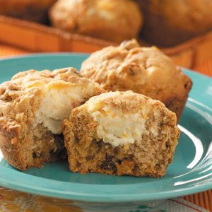 Carrot Cheesecake Muffins Recipe