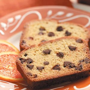 Orange Chocolate Chip Bread Recipe