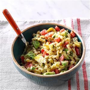 Monday's Lunch: Avocado & Artichoke Pasta Salad