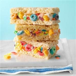 Cereal & Milk Ice Cream Sandwiches Recipe