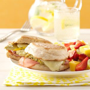Green Eggs and Ham Sandwiches Recipe