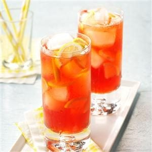 Menu #1 Drink:  Raspberry Iced Tea