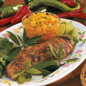 Peach Salsa with Pork Recipe