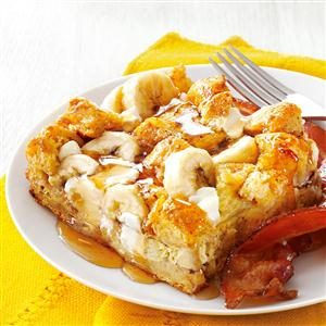 Banana French Toast Bake Recipe