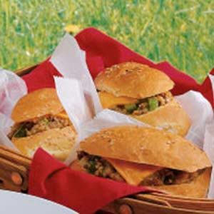 Hot Beef Cheddar Subs Recipe