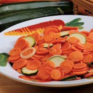 Zucchini 'N' Carrot Coins Recipe