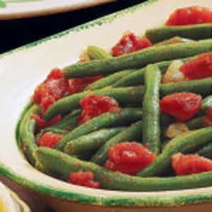 Seasoned Beans and Tomatoes Recipe