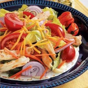 Chicken Salad on a Tortilla Recipe