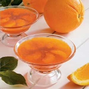Orange Gelatin Cups Recipe