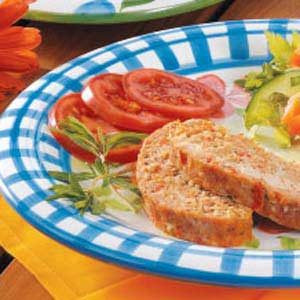Onion and Potato Turkey Meat Loaf