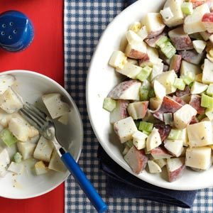 Mom's Tangy Potato Salad Recipe