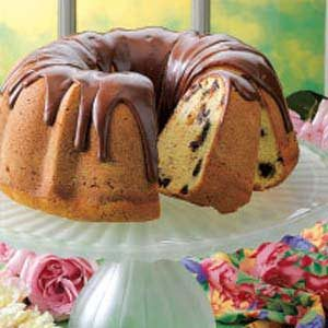 Chocolate Chip Pound Cake Recipe
