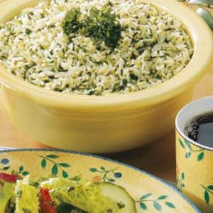 Flavorful Green Rice Recipe