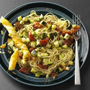 Zippy Zucchini Pasta Recipe