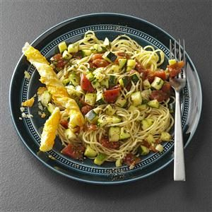 Zippy Zucchini Pasta Recipe