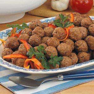 Mom's Meatballs Recipe