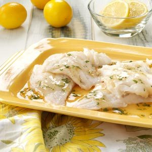 Broiled Fish with Tarragon Sauce Recipe