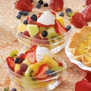 Maple Cream Fruit Topping Recipe