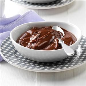 Light & Creamy Chocolate Pudding