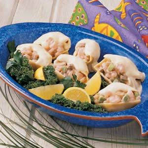 Alfredo Shrimp Shells Recipe