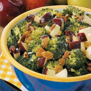 Broccoli Waldorf Salad Recipe