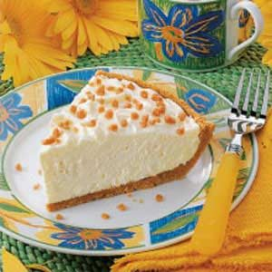 No-Bake Cheesecake Pie Recipe
