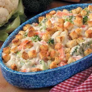 Creamy Vegetable Casserole Recipe