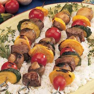 Summer Beef Skewers Recipe